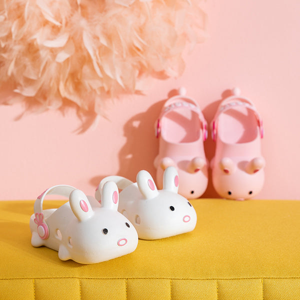 Rabbit made clogs