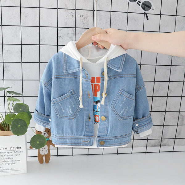 Double Pocket Denim Jacket