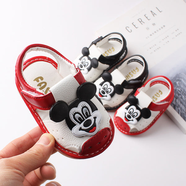 Mickey Mouse toddler sandals