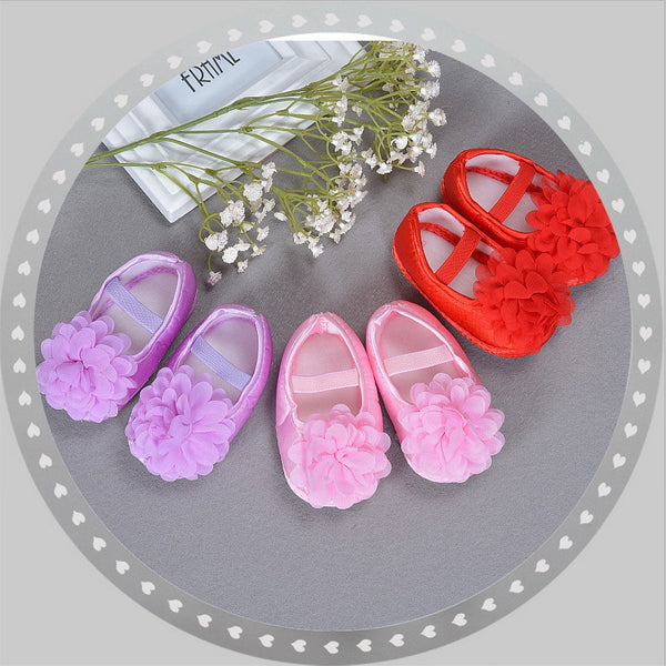 Flower Toddler Party Shoes