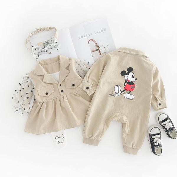 Mickey And Minnie Matching Outfit