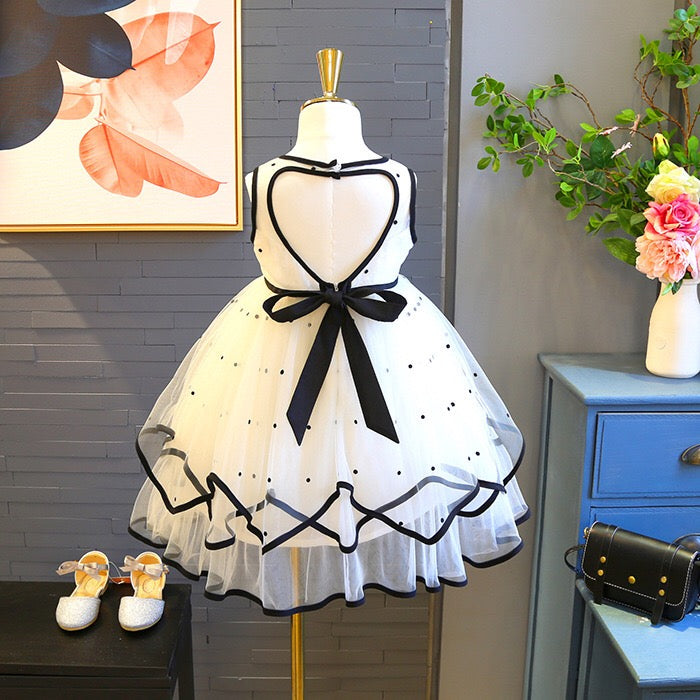 Black Bow Princess Dress