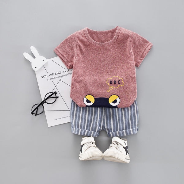 Angry Eyes Baby Set