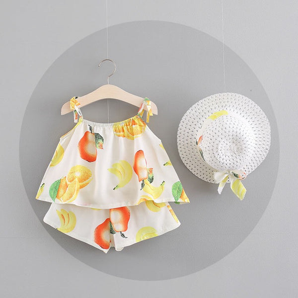 Fruit Printed Summer Sets