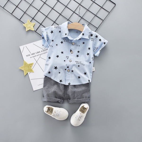 Star Printed Summer Set