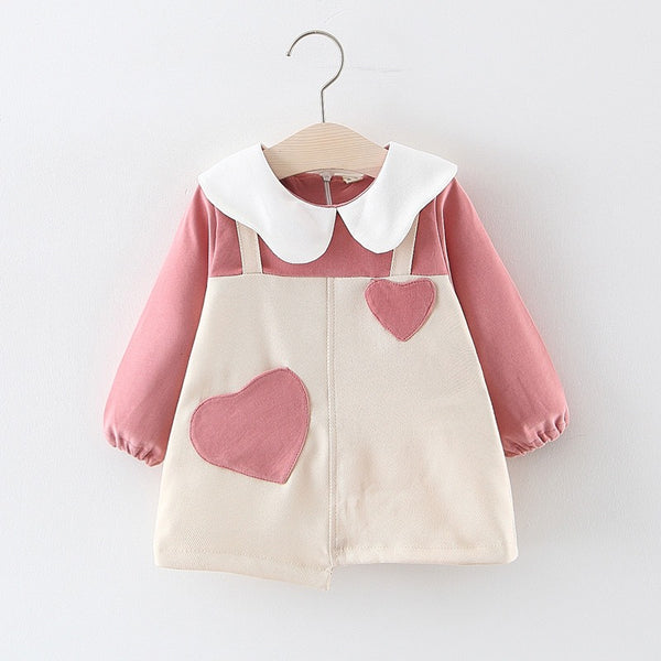 Heart Made Overall Style Dress