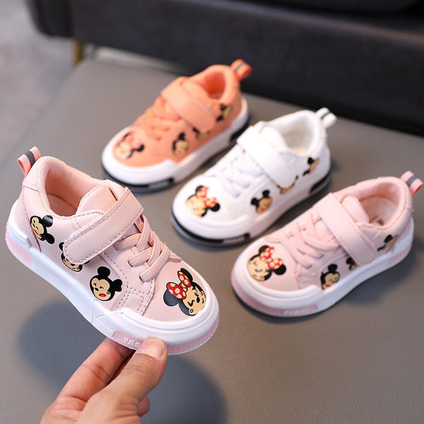 Minnie And Mickey Sneakers