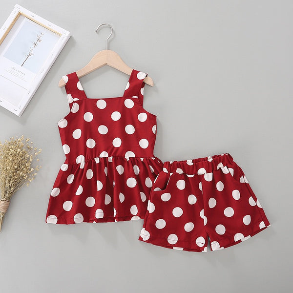 Polka Dotted Summer Set