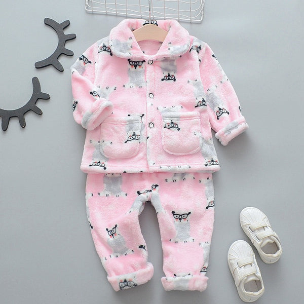 Owl Printed Night Suit