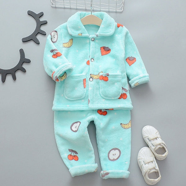 Fruits Printed Night Suit