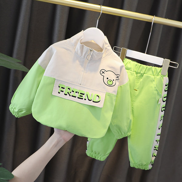 Friend Sweatshirt And Joggers Set
