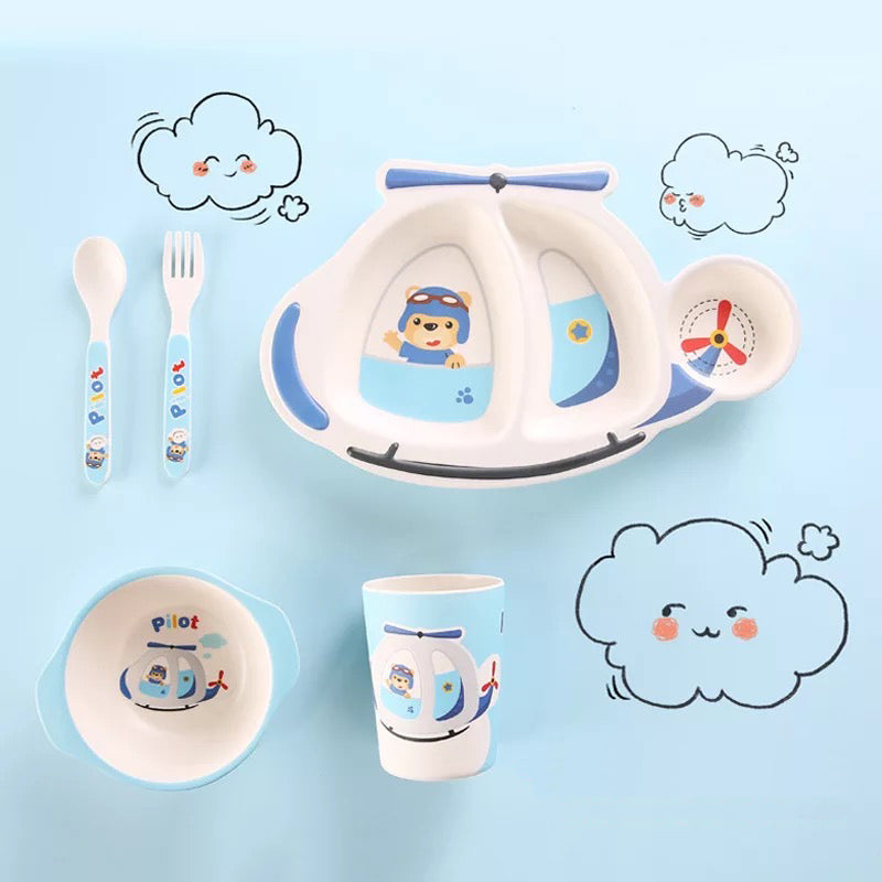 Airplane Crockery Set