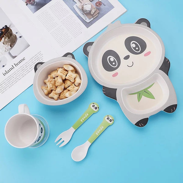 Panda Crockery Set