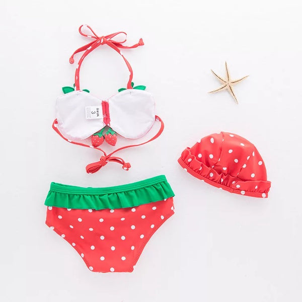 Strawberry Baby Swimsuit