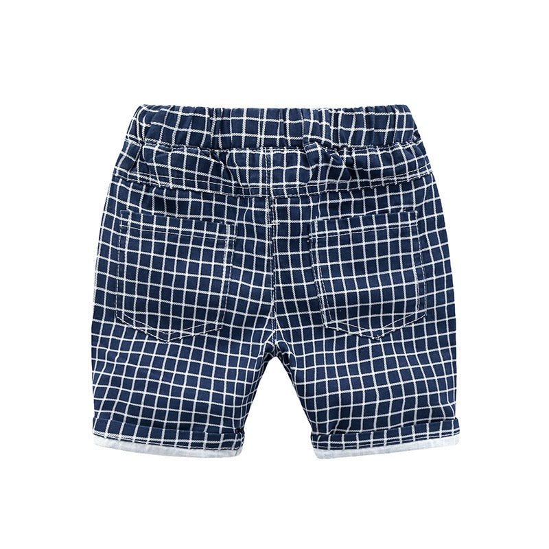 Plaided Summer Shorts