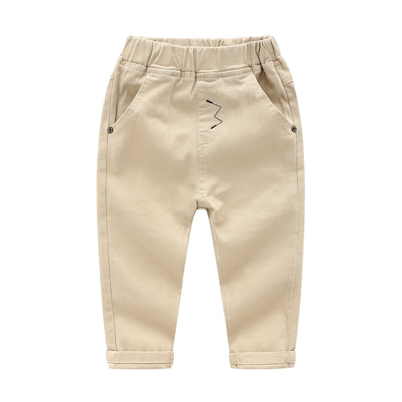 Chinos with Zig-Zag Stitch