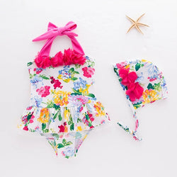 Floral 2 Piece Baby Swimsuit