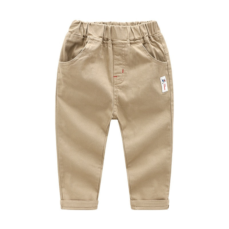 Chinos with Back Pockets