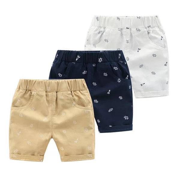 Astronaut Printed Shorts