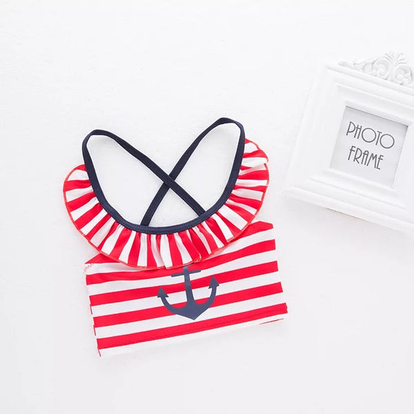 Anchor 4 Piece Baby Swimsuit