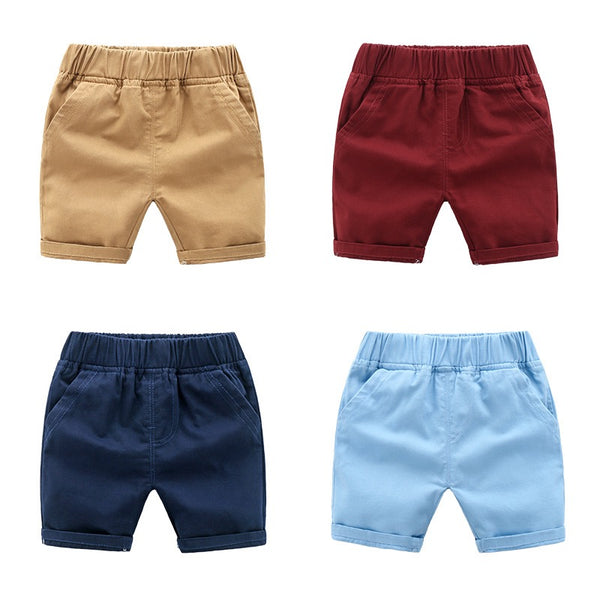 Colorful Cotton Shorts