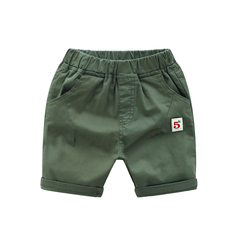 5 Patched Shorts