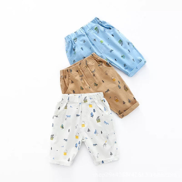 Forest Theme Shorts
