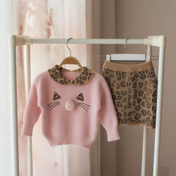 Leopard Winter Set