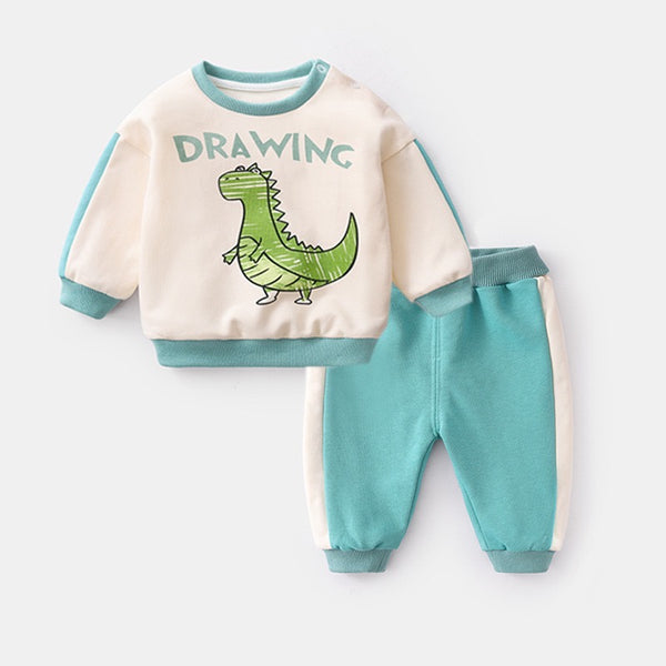 Animal Drawn Baby Set