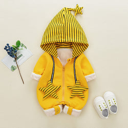 Star Made Hooded Winter Jumpsuit