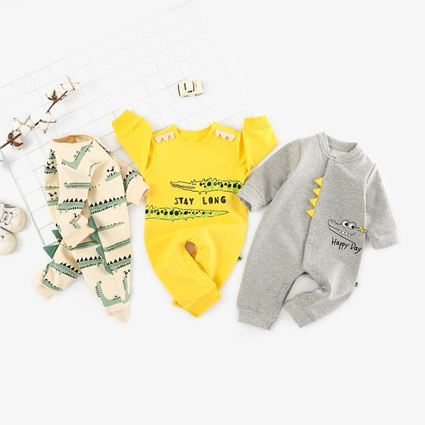 Crocodile Made Baby Bodysuit