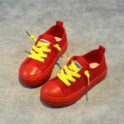 Colored Shoes With Contrast Laces