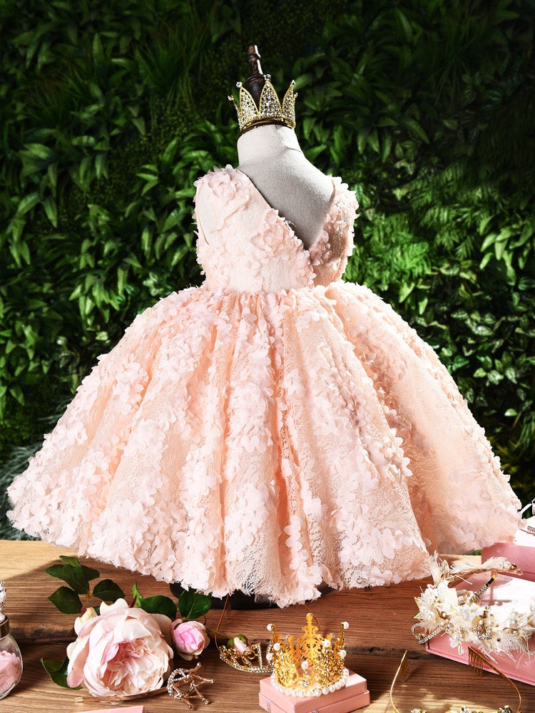Sleeveless Layered Princess Dress