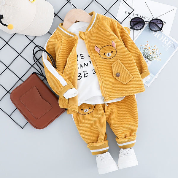 Baby Bear Corduroy Set