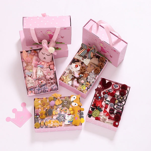 24 Hair Accessories Set