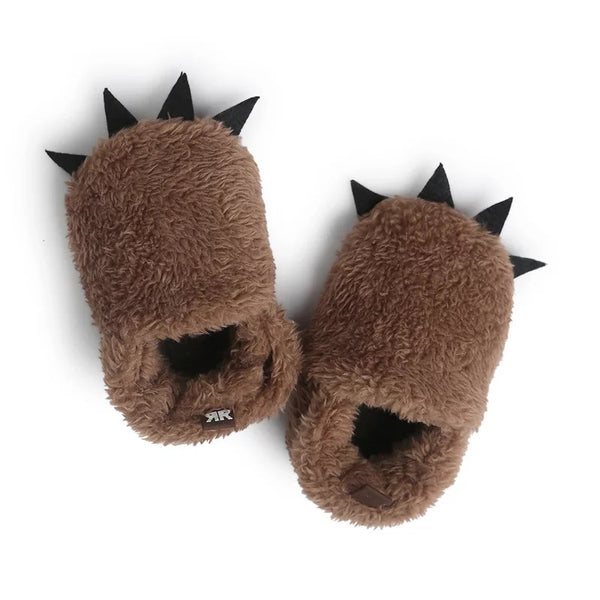 Cute Plush Claw Shaped Crib Shoes sale