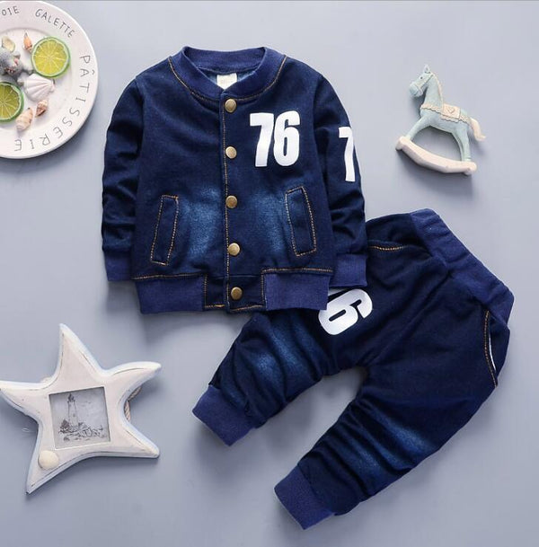 Boys Denim Set