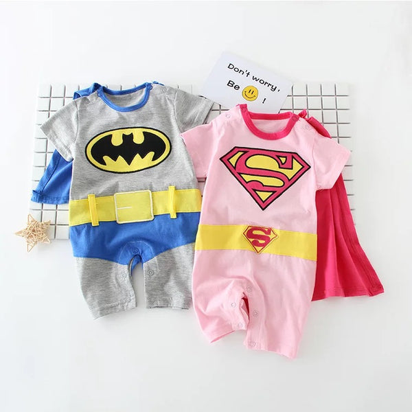 Superhero Summer Rompers