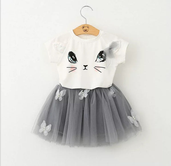 Cat Eyes Tutu Set