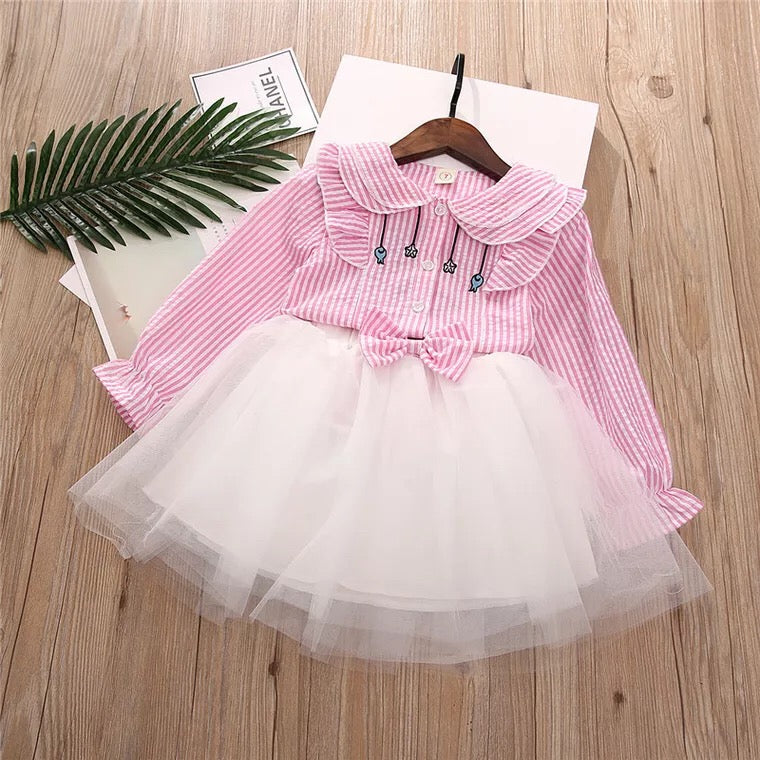 Striped Tutu Set