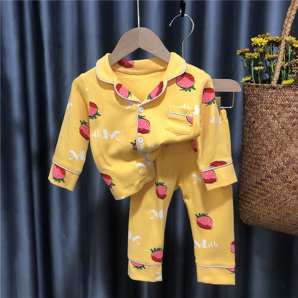 Fruit Printed Night Suit