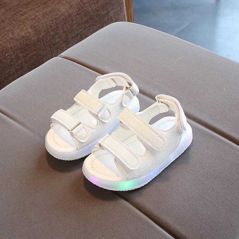 LED Sandals With Velcro Strap For Kids