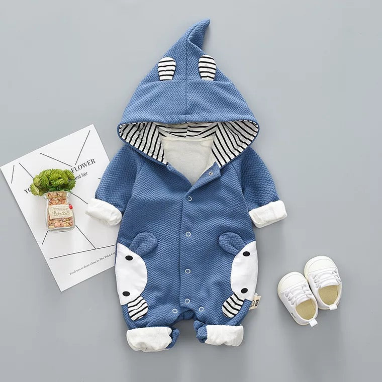 Animal Made Winter Hooded Jumpsuit