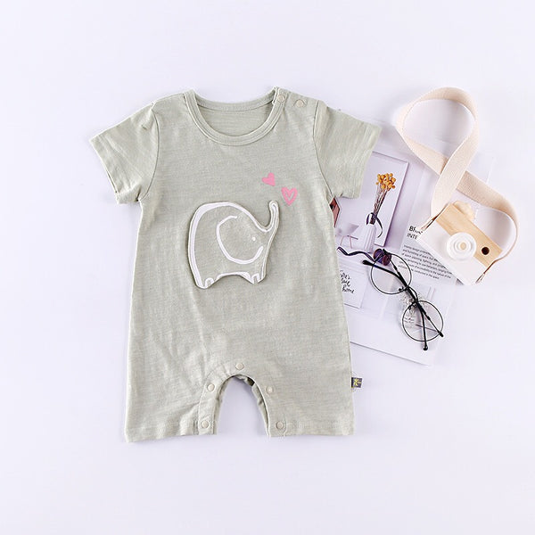 Elephant Embossed Romper