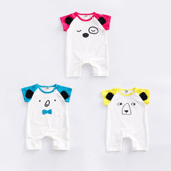 Animal Face Rompers