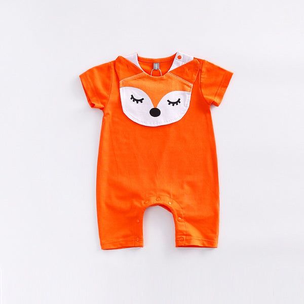 Animal Bib Rompers