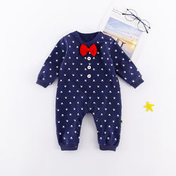 Crown Printed Bow Bodysuit