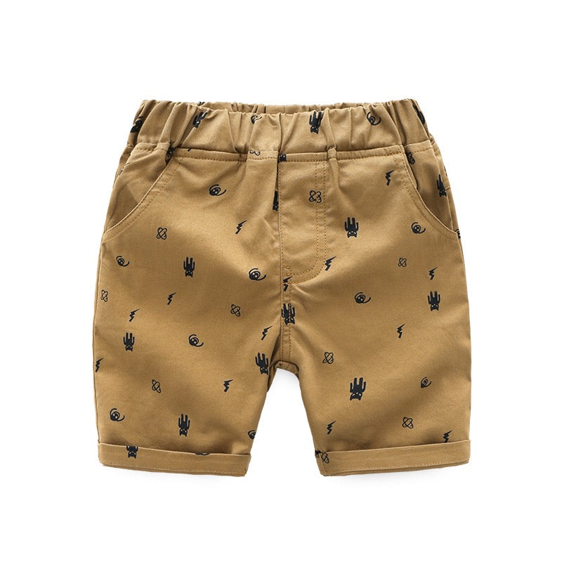 Alien Printed Shorts