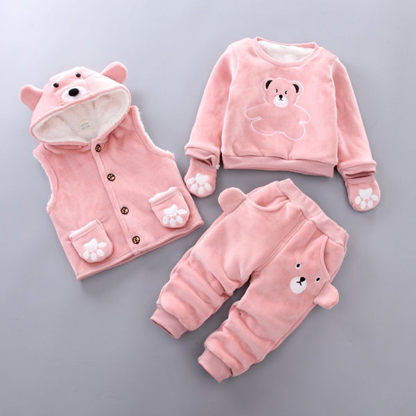 Bear Made 3 Piece Winter Set