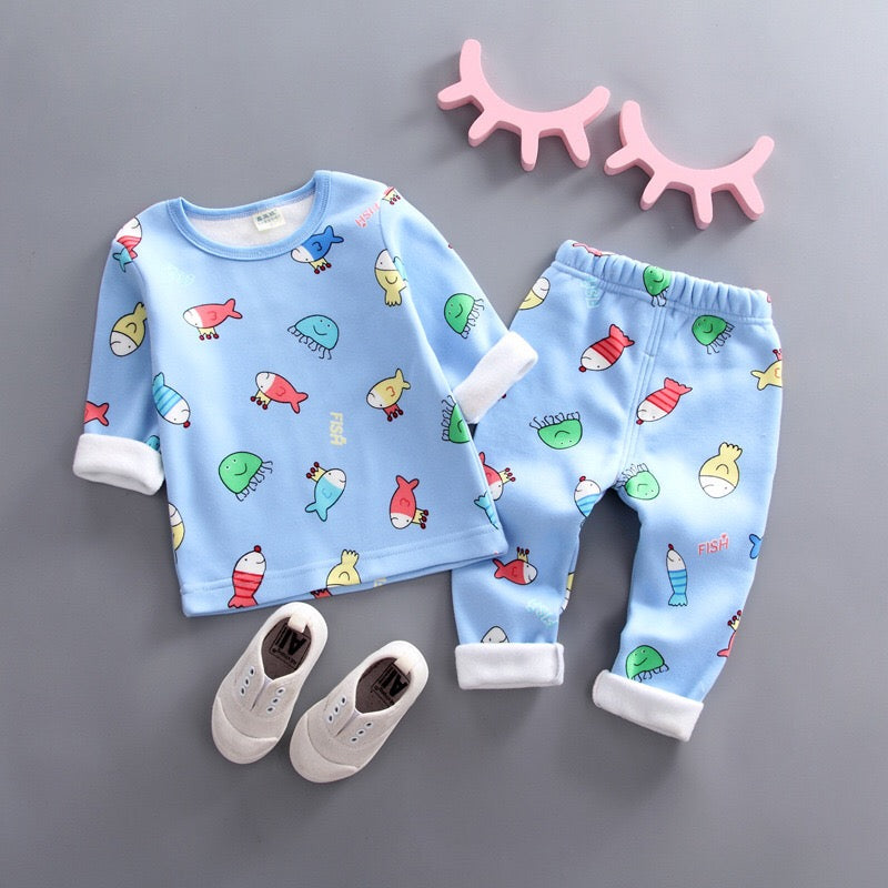 Character Printed Night Suit